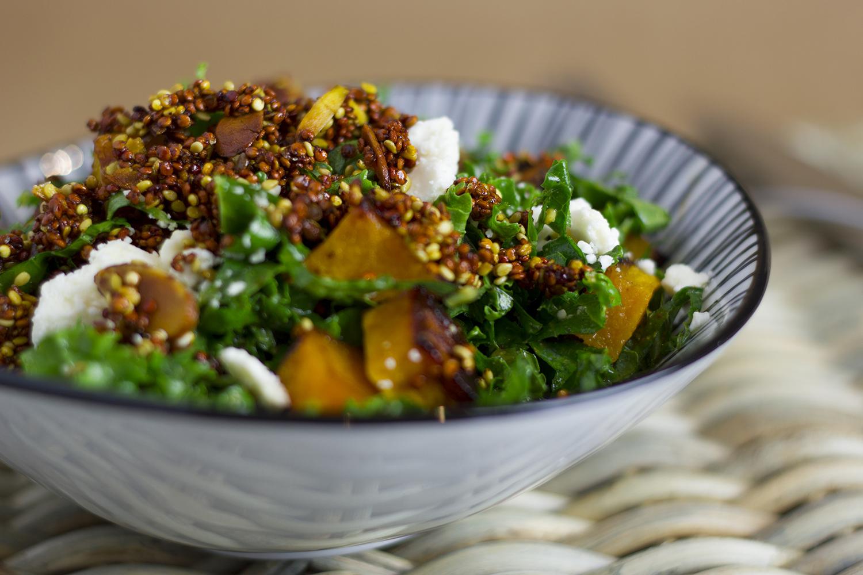 Contemporáneo Kale Ensalada De Cocina Herido Festooning - Ideas de ...