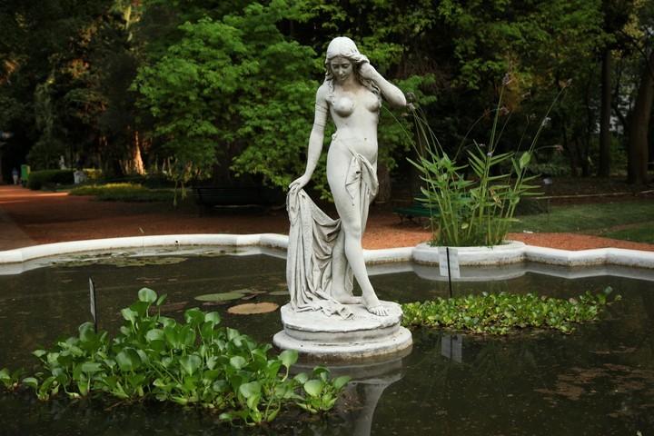 La imperdible colecci n de esculturas del jard n bot nico - Esculturas para jardines ...