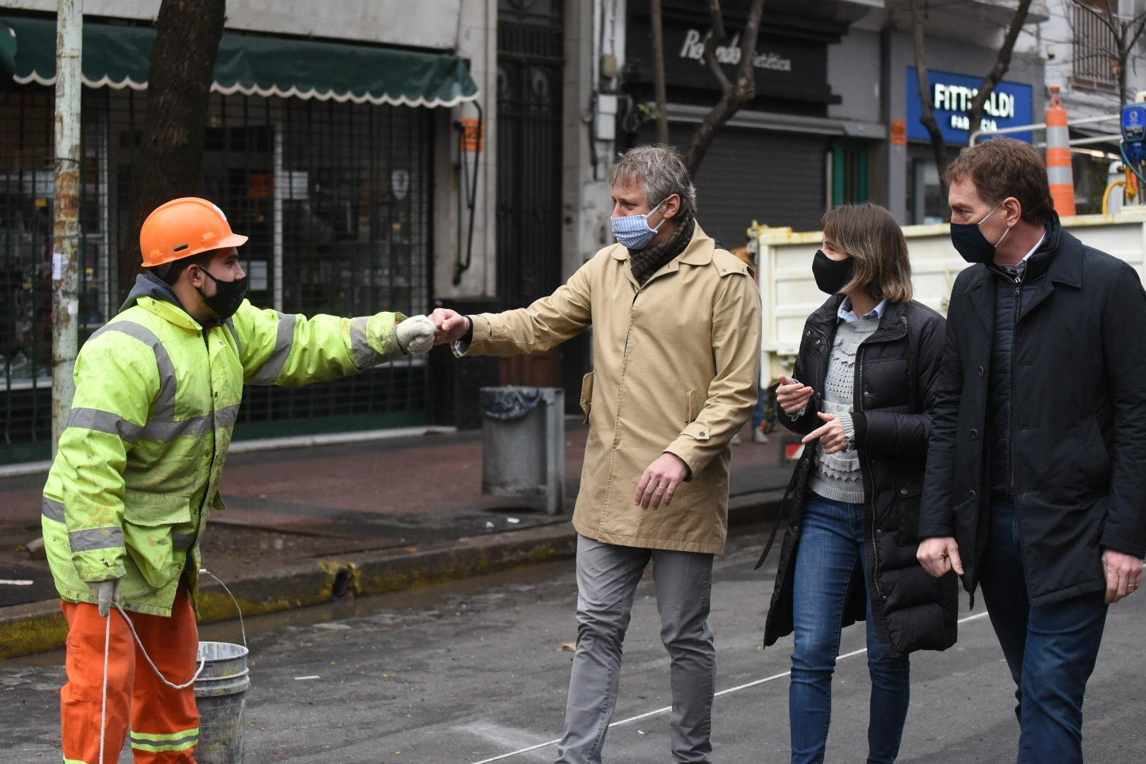 La Ciudad habilitará 15 áreas peatonales transitorias para facilitar el  distanciamiento social   Noticias para la Ciudad